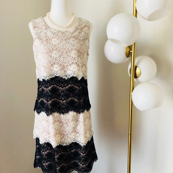 Jessica Simpson Layered Lace Dress 👗 NWOT